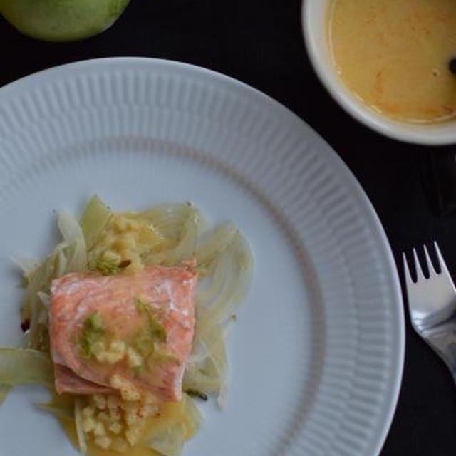 ★recipe★ Eple Smørsaus(リンゴのバターソース)&ソース基礎講座