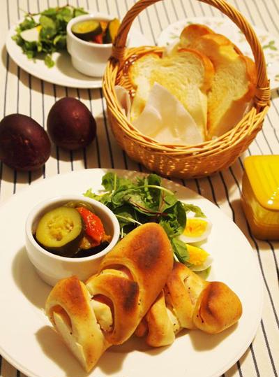 美味しいパンとラタトゥイユ&嬉しい贈り物♪