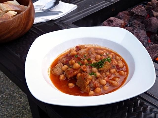 5. ヒヨコ豆のシチュー