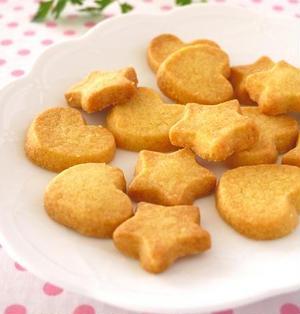 材料2つ♪簡単さくさくクッキー@ホットケーキミックスで作るお手軽スイーツ
