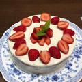 娘のためのbirthday cake