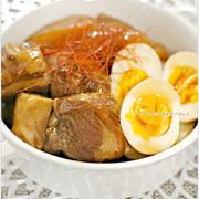 とろっとろ豚の角煮 飴色大根、卵と共に / 簡単おもてなし料理総集編