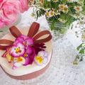 ♡レモン風味のレアチーズケーキ♡