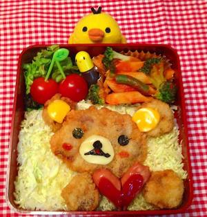 リラックマのカツ丼お弁当