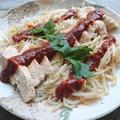 節約&ダイエット♪レンジで簡単蒸し鶏ともやしで激ウマヤンニョムチキン(鶏胸肉)