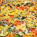 アメリカでおうちごはん 野菜いっぱい ベジタブルピザ