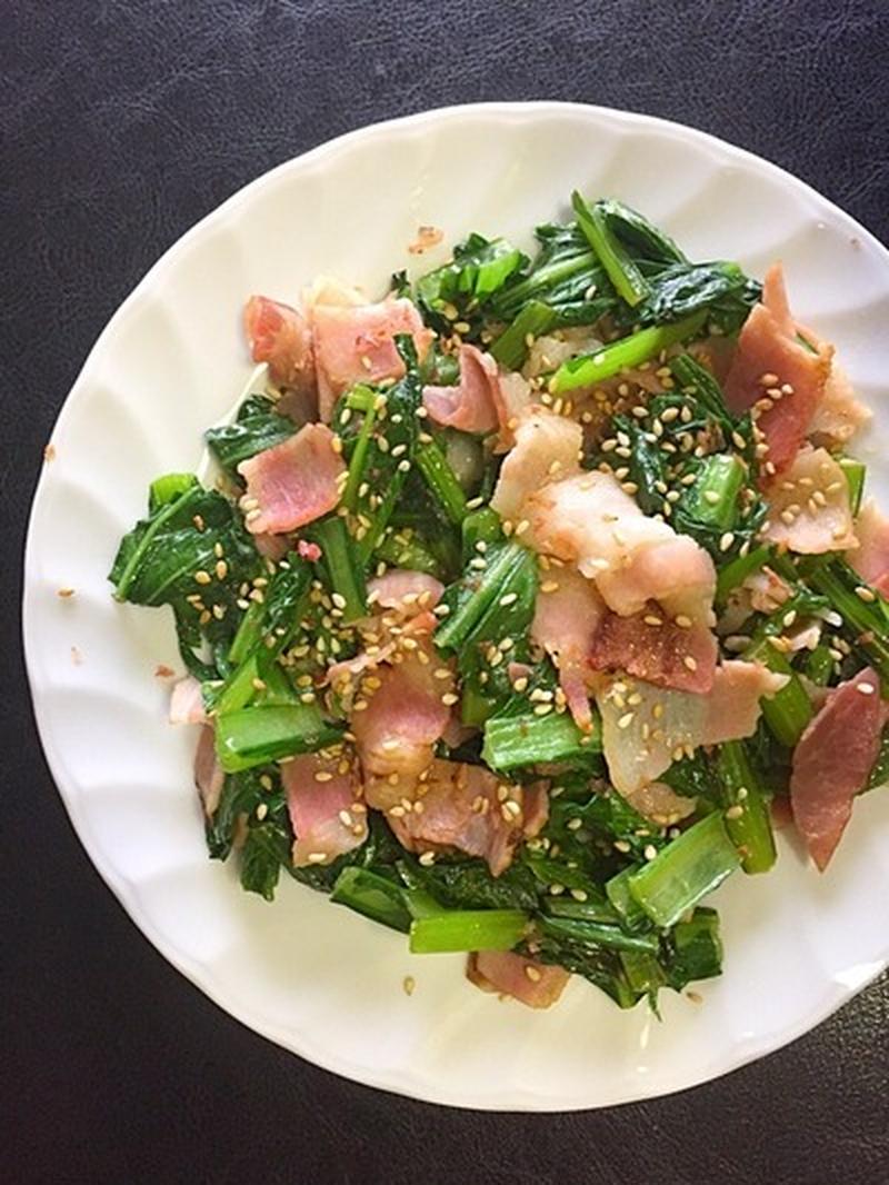 あと一品ほしいときに!5分でできる「小松菜」副菜レシピ