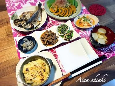 砂肝の生姜焼きとリメイク!うどんグラタン