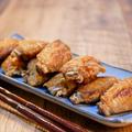 手羽先のピリ辛タバスコ揚げ焼き&「海老スパがやっぱり美味しいグリル一平さん」