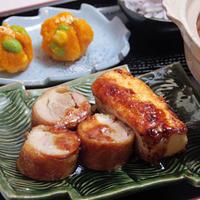 ハウススパイス「ゆず胡椒」 de ゆず胡椒ダレのチキンロールと豆腐ステーキ
