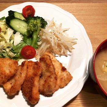 鶏むね肉で柔らかチキンカツ と 授業参観で思い出した吉田くん(仮名)の話