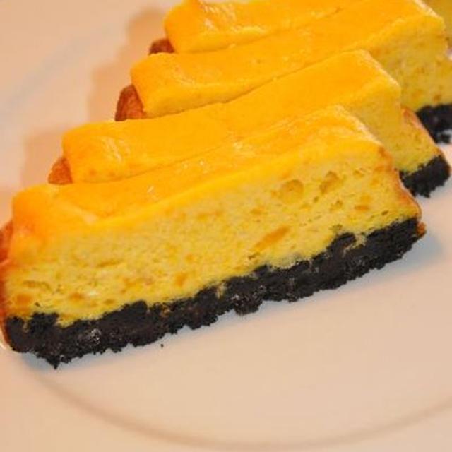 パンプキンチーズケーキバー