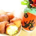 ホットケーキミックス(HM)で簡単♪かぼちゃの揚げパン