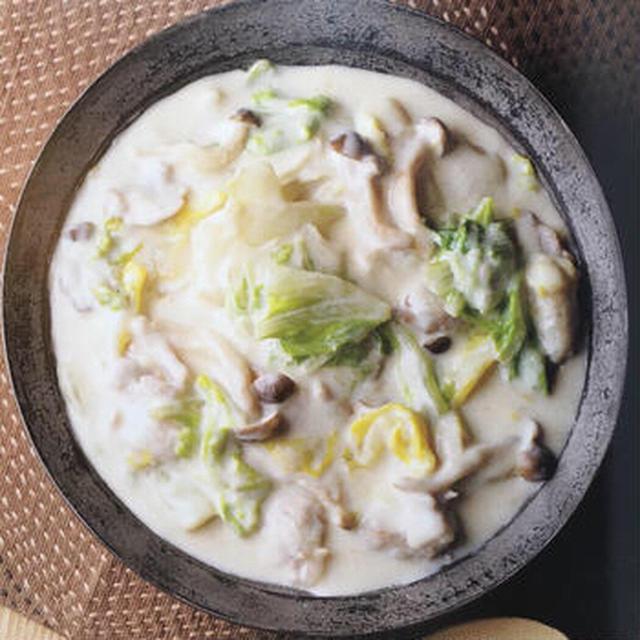 白菜のクリーム煮