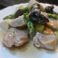 シチューの素で作る、カンタン豚肉ヒレ肉のポルチーニ風味