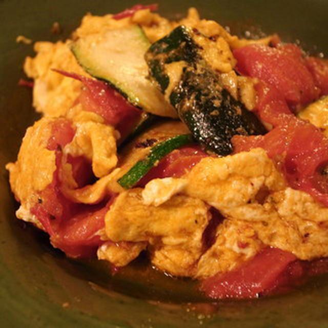 トマトのリコピンがしっかり摂れるトマトと夏やさいのオリーブオイル炒め レシピ付き