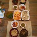 鮪の漬け丼とキビナゴの唐揚げ定食(またの名を半額ゲットン♪ありがとう定食)
