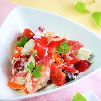 赤いサラダ