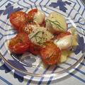 プチトマトのトースター焼き