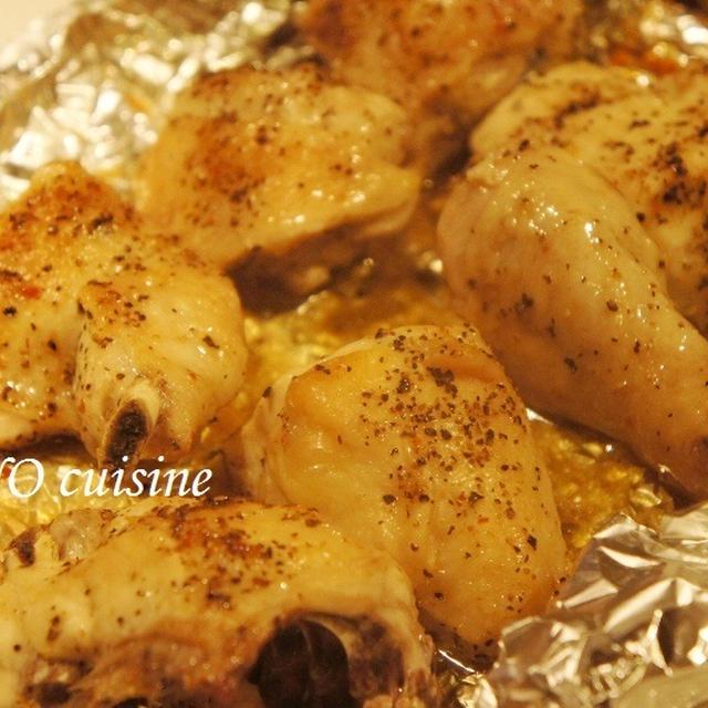 ☆車庫の迫力ステーキと鶏ぶつ切りのペパー焼き☆