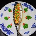 鯖のガーリックライム蒸し★本格タイ料理