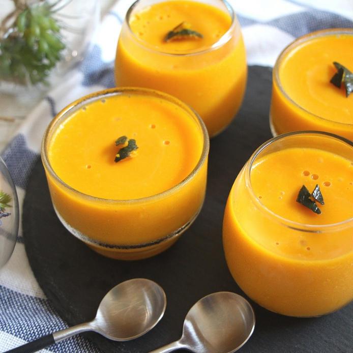 かぼちゃ プリン の 作り方