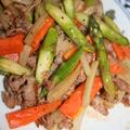 豚肉と野菜のオイスターソース