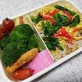 菜の花散らし寿司弁当