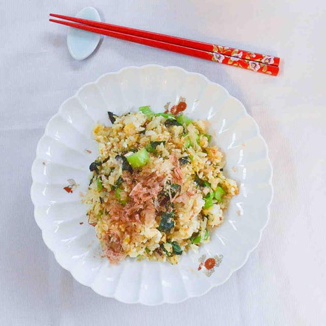 しらすと小松菜の炒飯