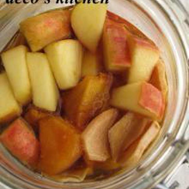 柿入り♪アップルジンジャー酢。