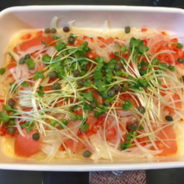 Smoked salmon  onion marinade☆スモークサーモンと玉ねぎのマリネ☆