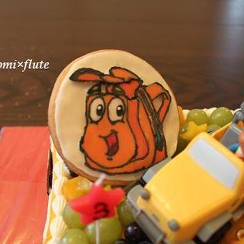 3歳のバースデーケーキ♪