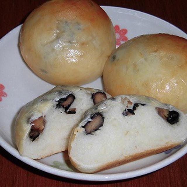 食べたかった丹波の黒豆パン・・ホシノ酵母~♪