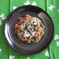 納豆・しらす・高菜の冷製カッペリーニ by ちびこさん