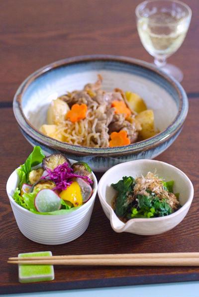 「リメイク」生姜焼き→肉じゃがに変身♪これ美味しい〜^^