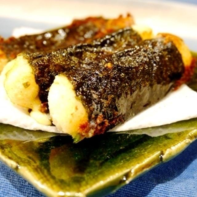 大和芋のチーズ海苔巻きと個人面談