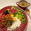 野菜いっぱい夜ご飯