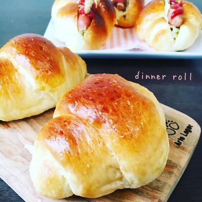 ふわふわ♡もっちり♡朝ごはんやおやつに♡ロールパン♡