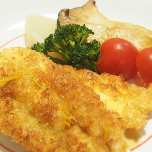 揚げ焼きで簡単! あっさり柚子ソースで食べる鶏ささみのカツレツ