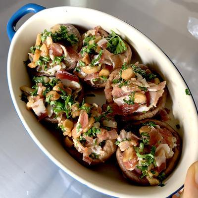【しいたけ】普段食材をワインバル店メニューにする方法💛簡単副菜レシピ