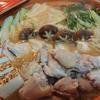 鶏肉のガーリック味噌バター鍋