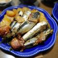 【家ごはん】 ヤーコン♡ [レシピ] 牡蠣とネギのオイスターソース炒め / イワシの梅煮