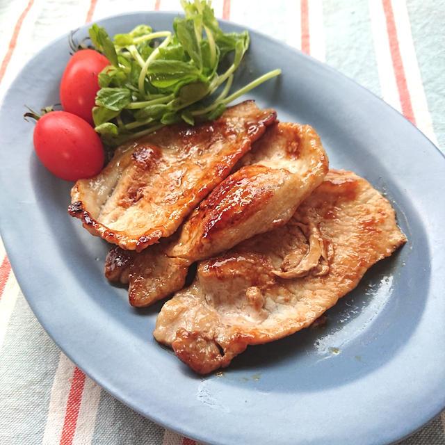 豚ロース焼肉のたれ炒め
