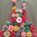 今日のケーキ*お花のドレス*カップケーキ