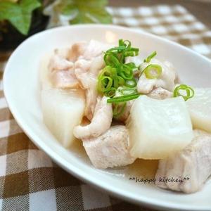 味付けいろいろ!「大根×鶏むね肉」で作るメインおかずレシピ
