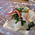 塩揉み野菜のわさびマヨサラダ