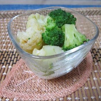花野菜のクミンオイルサラダ アレンジバージョン