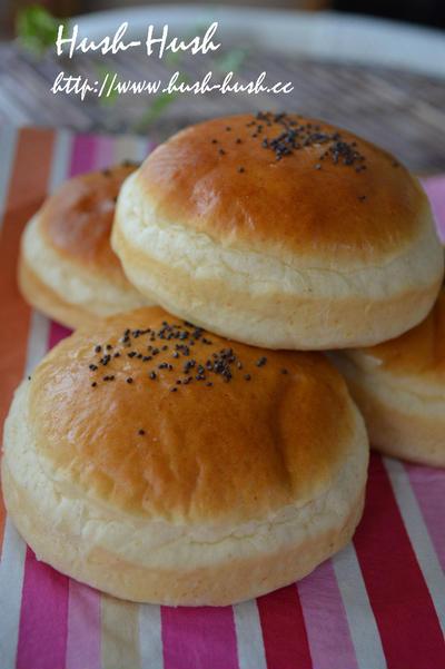 ♪ハンバーガーバンズの作り方★ホエーでもっちり&香りが豊か!★