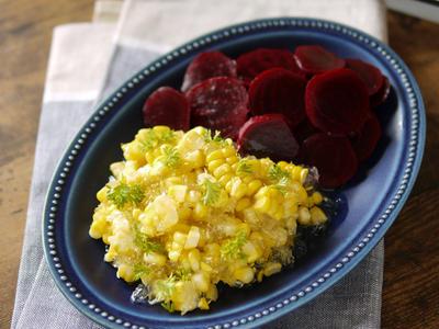 >夏野菜を美味しく食べる|とうもろこしレシピ|お洒落サラダ|【トウモロコシのジュレサラダ】 by SHIMAさん