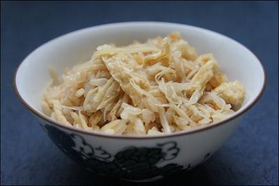 新生姜ご飯のレシピ。